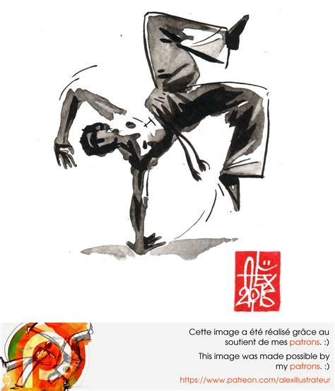 capoeira illustration by alex illustrateur alex illustrateur portfolio illustration capoeira 1001