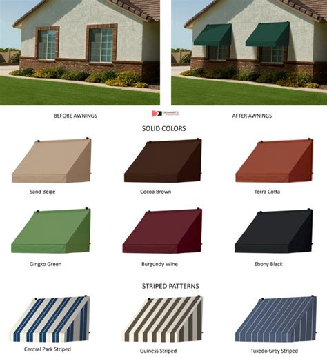 awning pattern contemporary window awnings with straight valence in 7