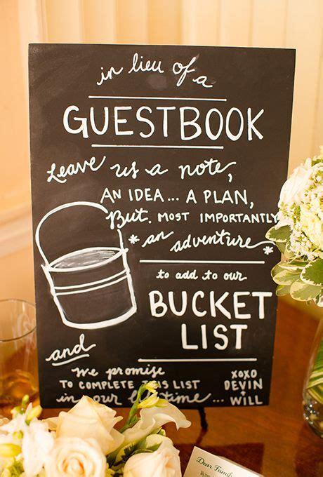 wedding shower cookbook ideas alternative guest book ideas buckets couples and bridal showers