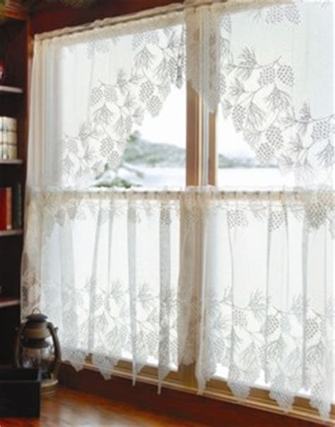 pinecone lace curtains pine cone lace curtains saw these in someone s window