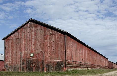 Tobacco Shed Ct by Tobacco Barn Connecticut Photograph By Brendan Reals