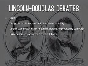 who won the lincoln douglas debates events by dnhart2