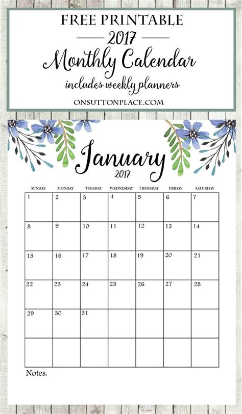 2016 printable monthly calendar on sutton place 216 best images about on sutton place printables on