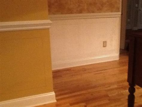 chair rail molding height molding question proper height of chair rail