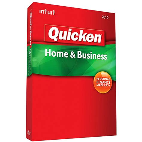 Quicken Home And Business by Intuit Quicken Home Business 2010 Personal Finance Software Vip Outlet