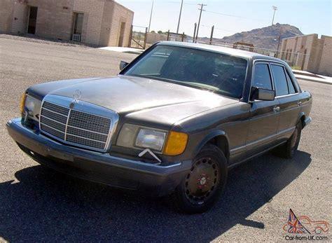 mercedes classic modified classic 1989 mercedes benz 420sel limo tint custom paint