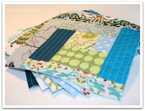 log cabin quilt as you go tutorial quilts 3
