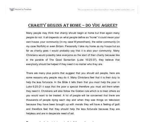 About Charity Essay charity begins at home essay for school original content