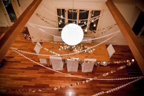 Handmade New Year Decorations - celebrating the new year with glitter gold the