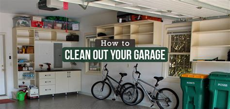 How To Clean Out Your Garage by Completely Clean Out Your Garage In 6 Steps Budget Dumpster