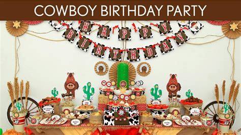 birthday themes and pictures western birthday party ideas home party ideas