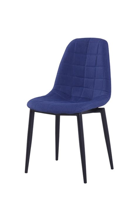 zella modern blue dining chair set of 2