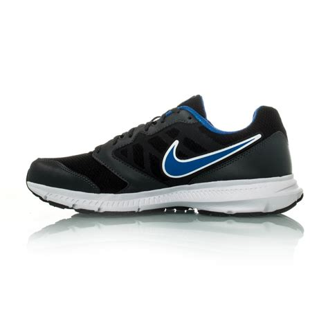 mens nike running shoes nike downshifter 6 mens running shoes black blue white
