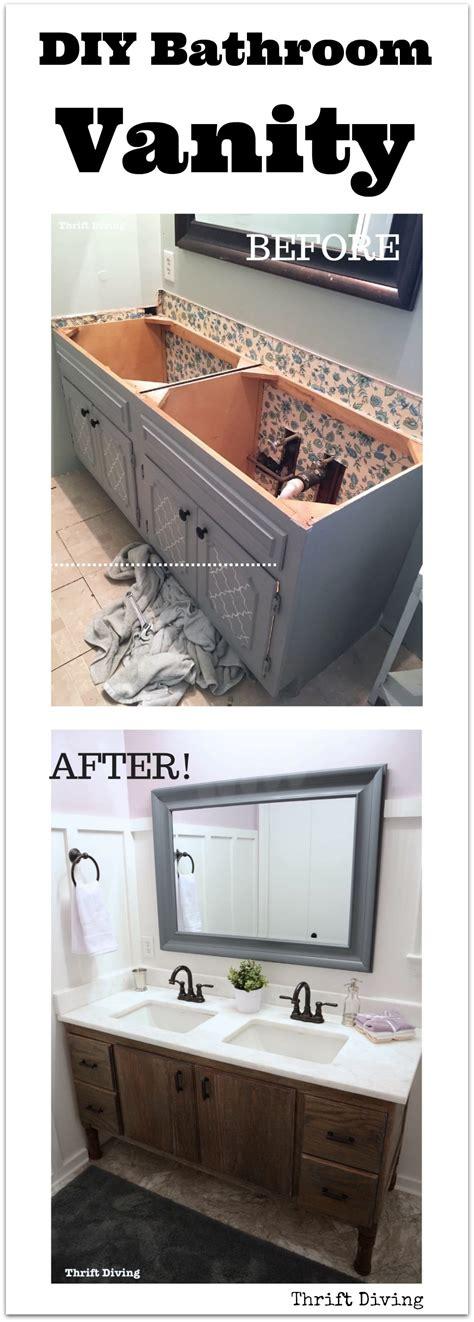 how to make bathroom vanity how to build a 60 quot diy bathroom vanity from scratch