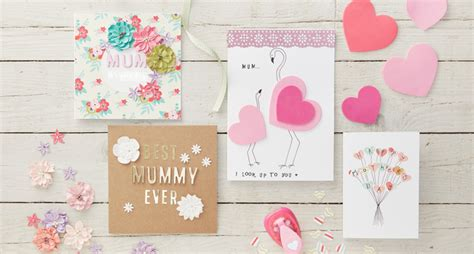 mothers day card to make 4 easy s day cards to make hobbycraft