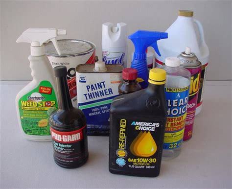 toxic household items household items that require special disposal recycling