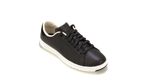 cole haan grand pro tennis smooth leather sneaker