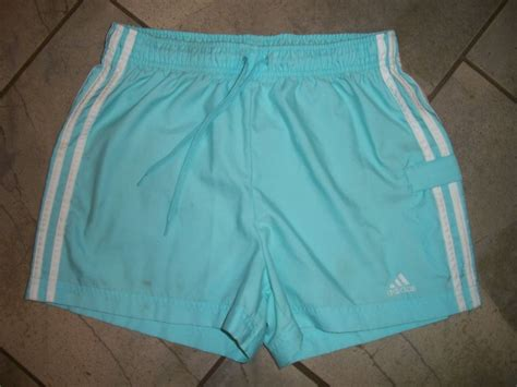 light blue shorts 1110 adidas light blue athletic sports running