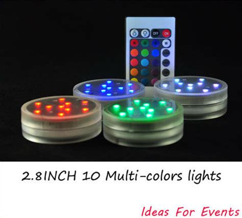 Led Waterproof Lights For Vases by Aliexpress Buy Led Submersible Rgb Remote