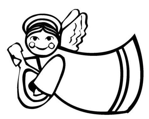 Kostenlose Vorlage Engel Kostenlose Malvorlage Weihnachten Fliegender Engel Zum Ausmalen