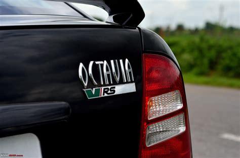 skoda vrs logo another skoda octavia vrs evolving to be a black brute