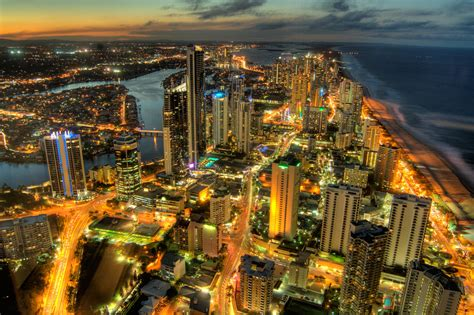 gold wallpaper australia surfers paradise computer wallpapers desktop backgrounds