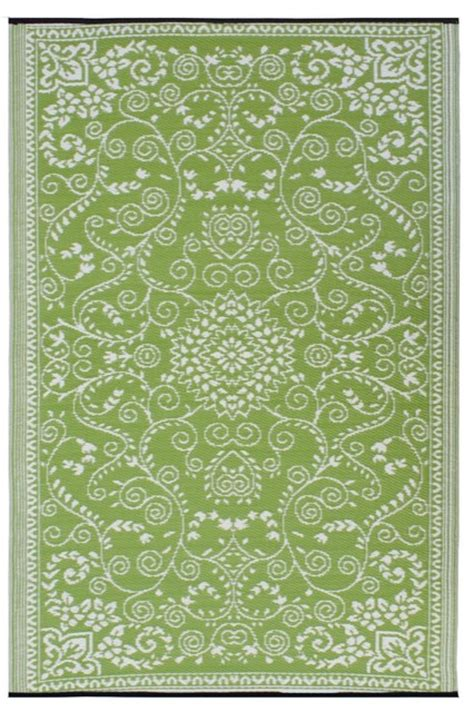 Fab Habitat Murano Indoor Outdoor Rug Lime Green And Contemporary Outdoor Rugs