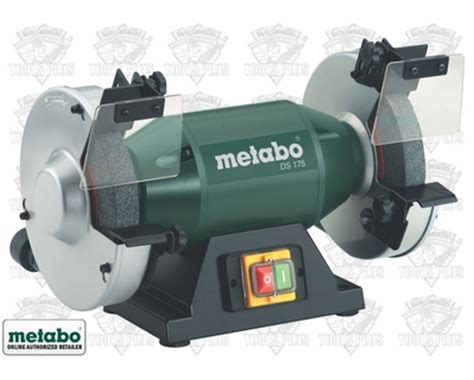 metabo bench grinder review metabo ds175 bench grinder 7 quot