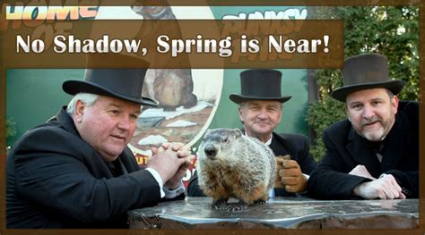 groundhog day no shadow meaning february 2011