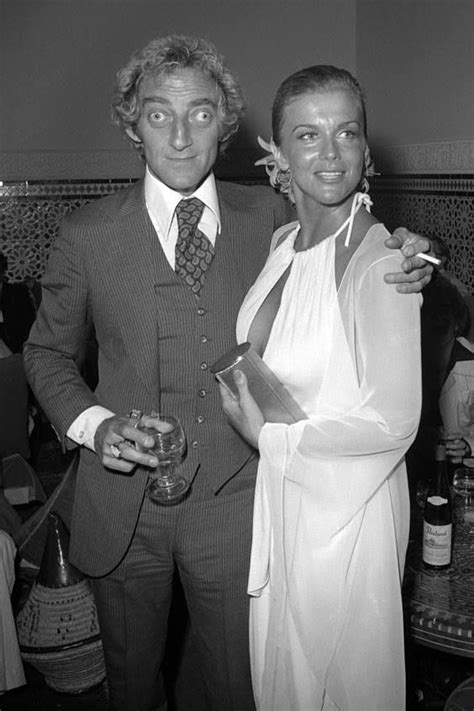 A-M (looking gorgeous!) and Marty Feldman at the BEAU