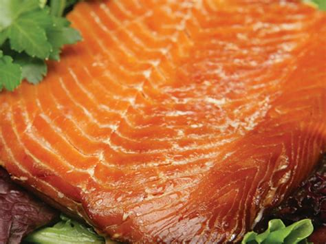 Shelf Smoked Salmon by Master Foods International High Quality
