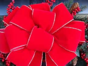 2 decorative bows wreath bow for wreath