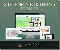 themeforest deals 20 black friday cyber monday deals for web professionals