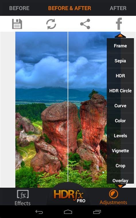 tutorial edit foto hdr di android hdr fx photo editor free android apps auf google play