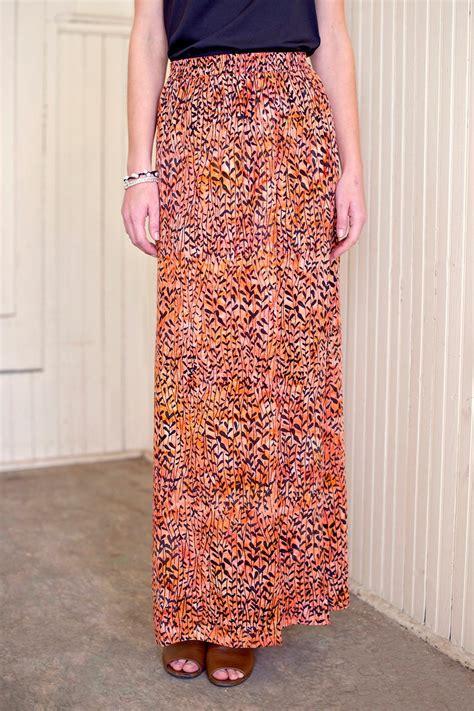 Batik Skirt go fish clothing orange batik skirt from florida by go fish clothing jewelry co shoptiques