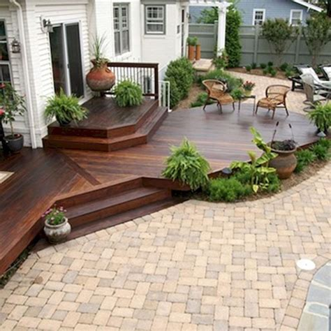 patios and decks for small backyards best 25 backyard deck designs ideas on