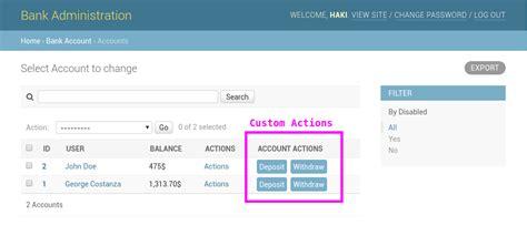 django tutorial button how to add custom action buttons to django admin haki