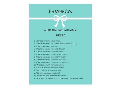 Knows Best Baby Shower by Baby Shower Who Knows Best Magical Printable