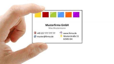 Visitenkarten Word Vorlage Download by Kostenlose Visitenkarten Vorlagen Word Download Freeware De
