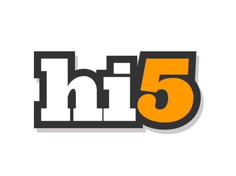 Hi5 Search File Hi5 Logo 2 Jpg Wikimedia Commons