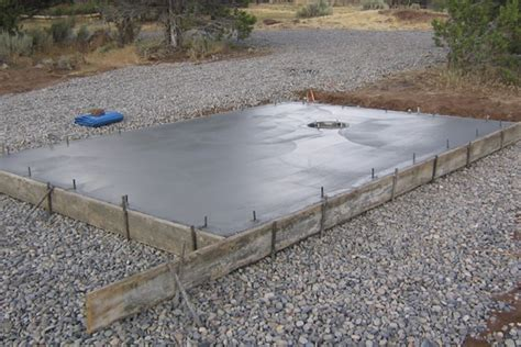 Shed Concrete Slab Thickness by Concrete Slab Manishaa