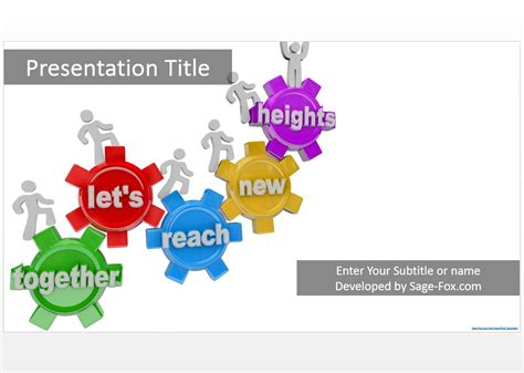 free teamwork powerpoint templates teamwork powerpoint template 8964 free teamwork