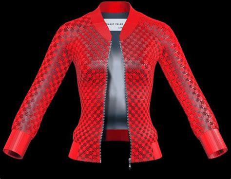 design jaket printing 3ders org buy your own 3d printed garment online danit