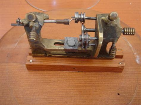 Handmade Lathe - tools handmade lathe made by a german prisoner of war in