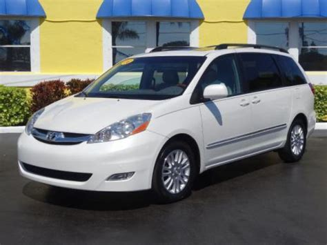 find used 2008 toyota sienna xle limited in 7290 park blvd pinellas park florida united