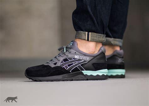 Sepatu Casual Running Asics Gel Lyte V Black Speckle Premium asics gel lyte v casual pack black black asphaltgold