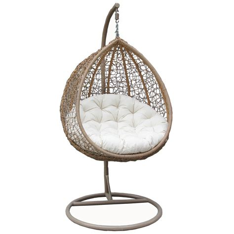 hanging rattan swing chair bentley garden rattan swing chairs in black brown