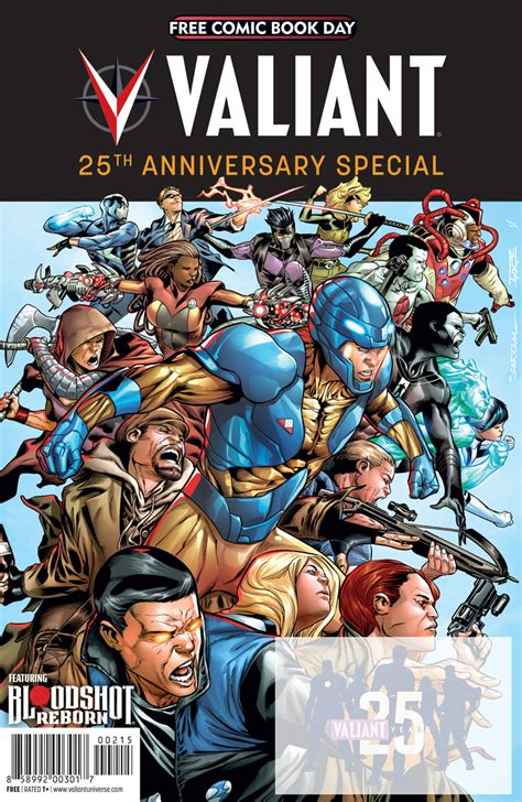 the valiant the valiant 25th anniversary celebration begins in may with monumental new releases for free