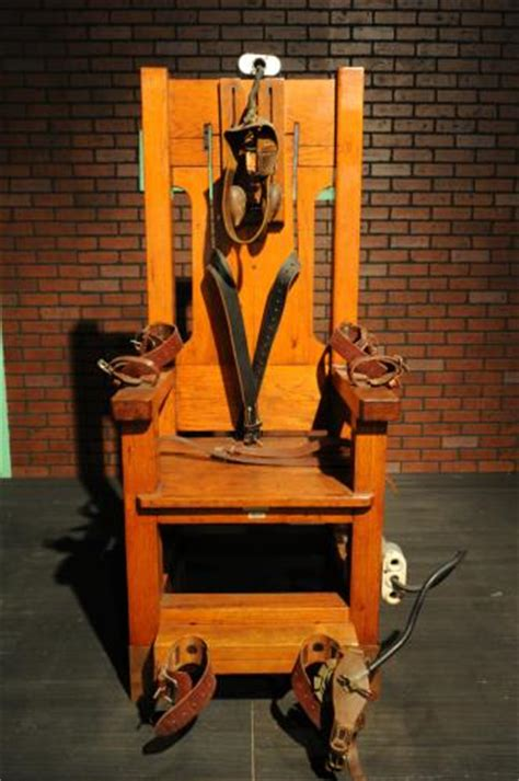 sparky electric chair beautiful scenery