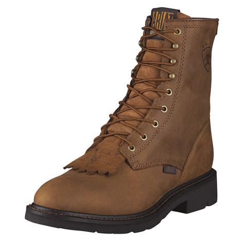 ariats mens boots ariat mens cascade lacer work boots d d outfitters